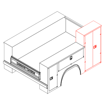 Raised Front Compartment