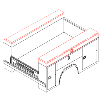 Topper Compartment Boxes